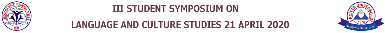 3 Student Symposium On Language And Culture Studies 21 April 2020